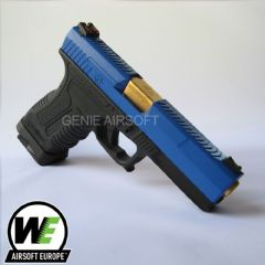 WE Two-Tone GP1799 GBB Airsoft Pistol Gold Barrel Ltd Edition